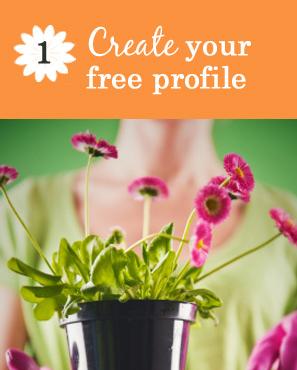 create your free profile